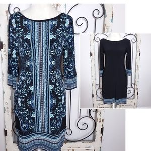 White House Black Market reversible dress XS